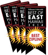 Best Zipline of East Hawaii