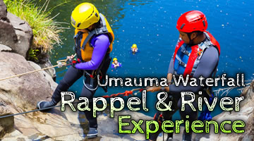 Umauma Waterfall Rappel & River Tours