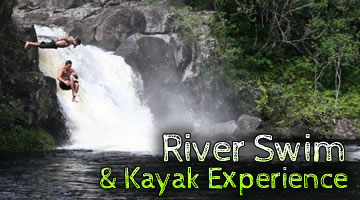 River Swim & Kayak Experience