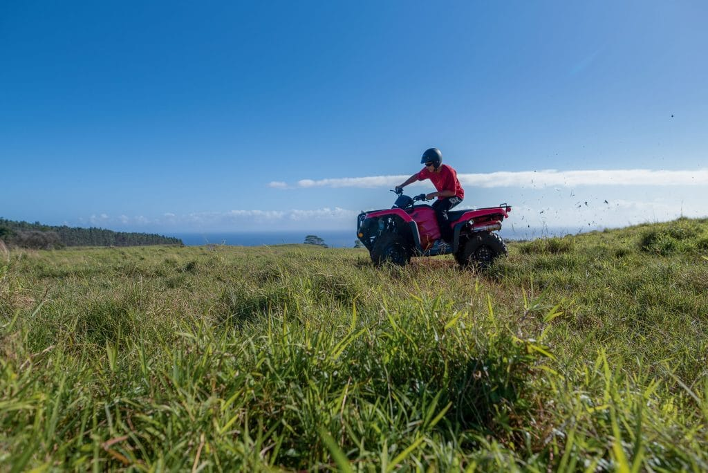 ATV at Umauma Experience